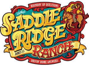 Saddle Ridge Ranch logo